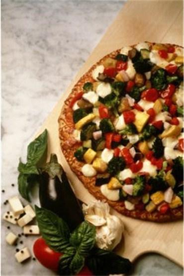 Kepekli, vejetaryen pizza tarifi